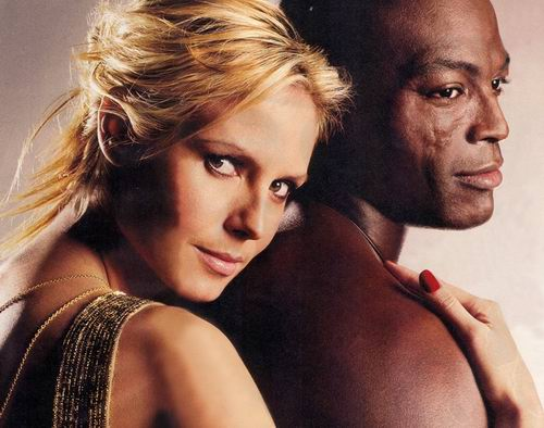 Heidi Klum & Seal File Photo