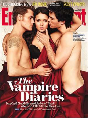 Vampire Diaries. Photo: EW.com