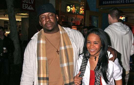 Bobby Brown & Bobbi Kristina. File Photo