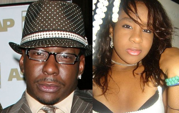 Bobby Brown &amp; Bobbi Kristina. File Photo
