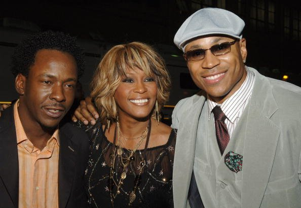 Bobby Brown, Whitney Houston, & LL Cool J. Photo: WireImage.com