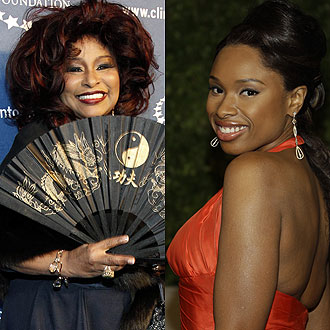 Chaka Khan & Jennifer Hudson. File Photo