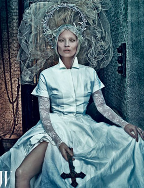 Kate Moss Photo: Steven Klein for W