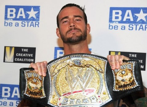 CM Punk. Photo: WWE.com Part Of Be A Star Program