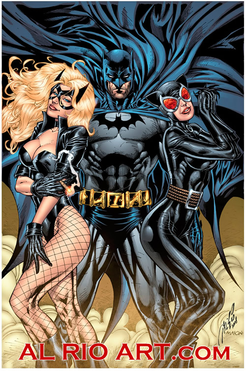 Batman, Black Canary, &amp; Catwoman