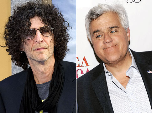 Howard Stern Versus Jay Leno File Photo