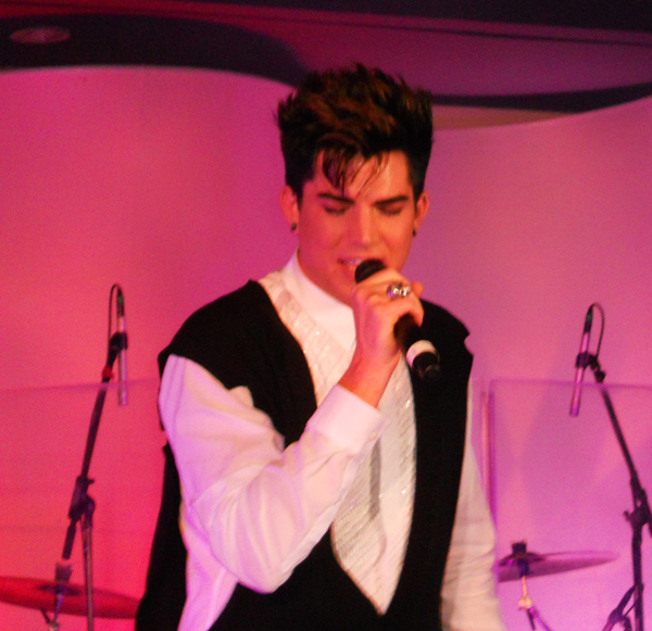 Adam Lambert. Photo: Wendy Hsiao For Drfunkenberry.com