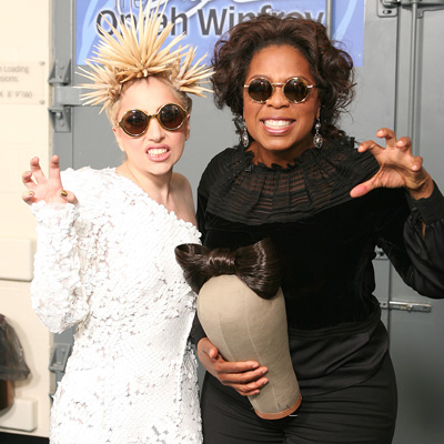Lady Gaga &amp; Oprah Winfrey. Photo: Buzzfeed.com