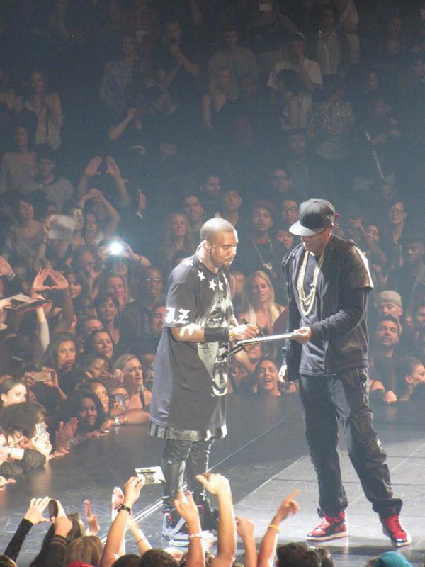 Kanye West & Jay Z. Photo: Drfunkenberry.com
