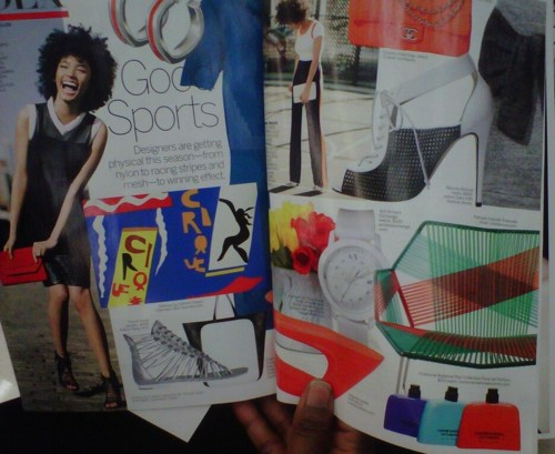 Andy Allo Vogue April 2012