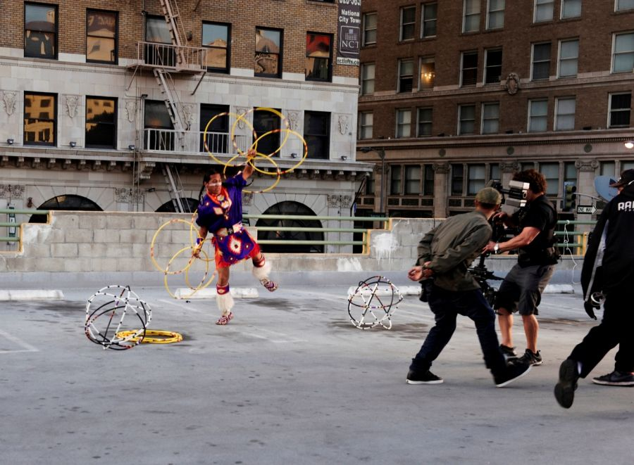 "Behind The Scenes Of Nelly Furtado Video ""Big Hoops"" (The Bigger The Better)"""