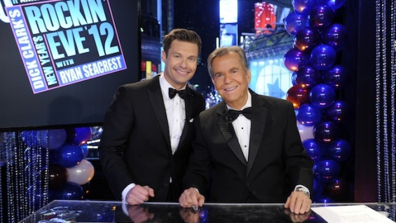 Ryan Seacrest & Dick Clark File Photo