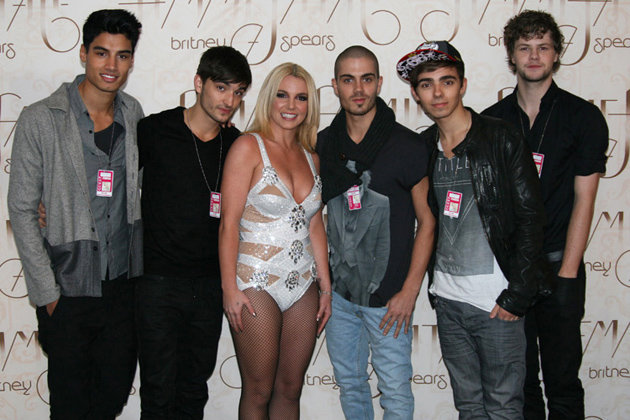 Britney Spears & The Wanted File Photo