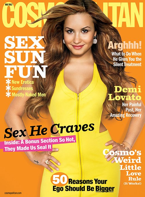 Demi Lovato. Photo: Cosmopolitan Magazine
