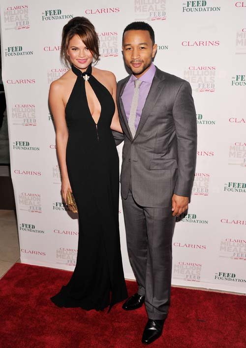 Chrissy Tegan &amp; John Legend Photo: GettyImages.com