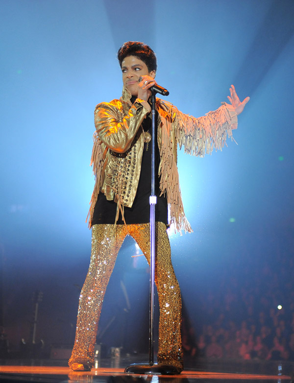 Prince Photo: AP Images For NPG Records 2012