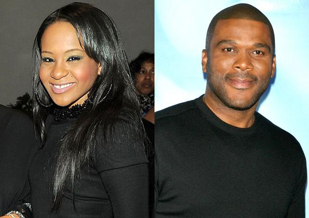 Bobbi Kristina &amp; Tyler Perry. Photo: GettyImages.com