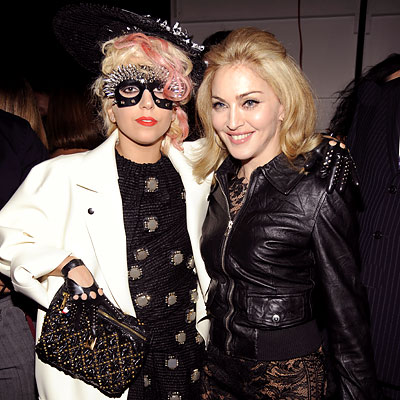 Lady Gaga & Madonna  Photo:  GettyImages.com