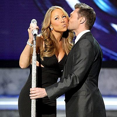 Mariah Carey & Ryan Seacrest File Photo
