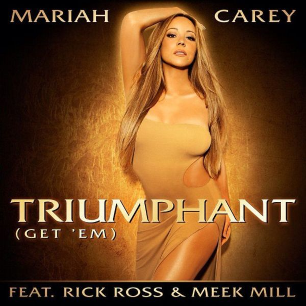 Mariah Carey Triumphant Cover