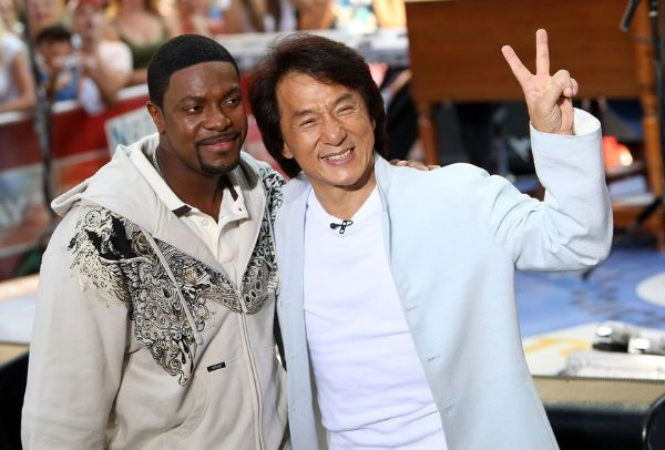 Chris Tucker &amp; Jackie Chan File Photo