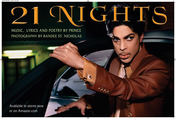 21 Nights Promo Poster.  Photo: Randee St. Nicholas