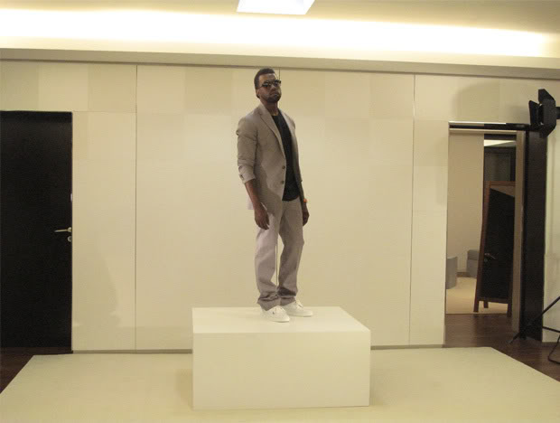 Kanye Wests GQ Shoot.  Photo Provided By Kanye West