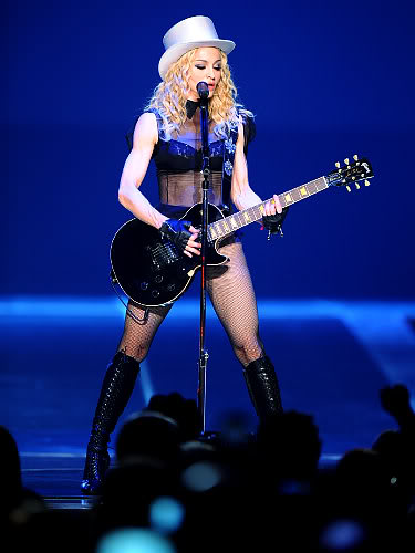 Madonna At Madison Square Garden.  Photo:  Associated Press