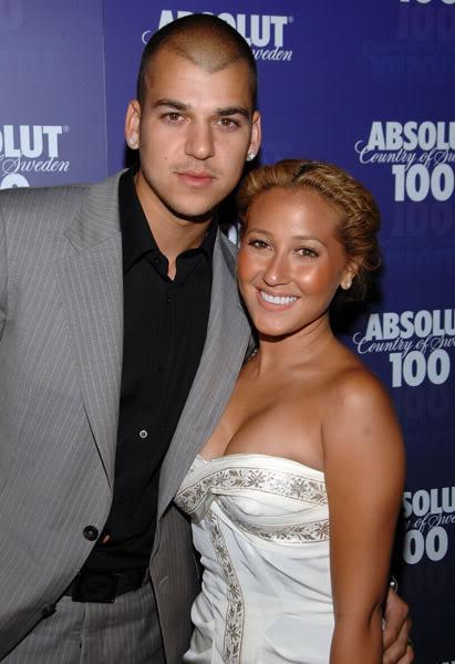 Robert Kardashian & Adrienne Bailon.  File Photo