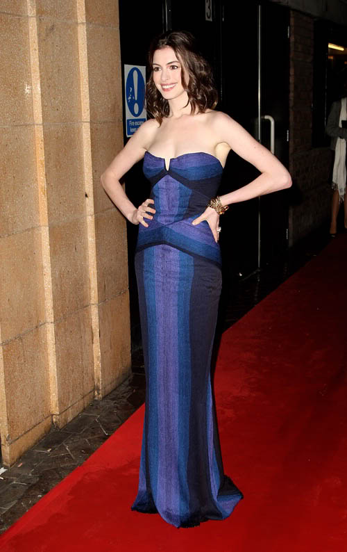 Anne Looks Amazing In London.  Photo: Gettyimages.com