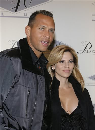 Alex Rodriguez & Cynthia Rodriguez In Happier Times.  File Photo