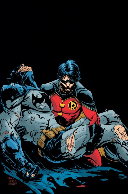 The Cancellations Come By Way Of The Batman R.I.P. Storyline.  Art: DC Comics