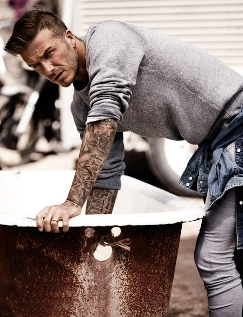 David Beckham Photo: Josh Olins for British Esquire