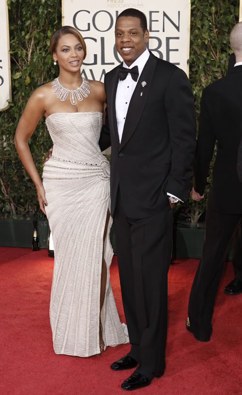 Beyonce & Jay Z At Golden Globes.  Photo: Wireimage.com