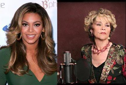 Beyonce Knowles, Etta James