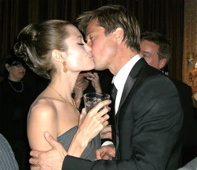 You May Kiss The...Girlfriend.  File Photo