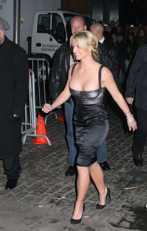 Britney Spears Busted Out In 2008.  Photo: Famepictures.com