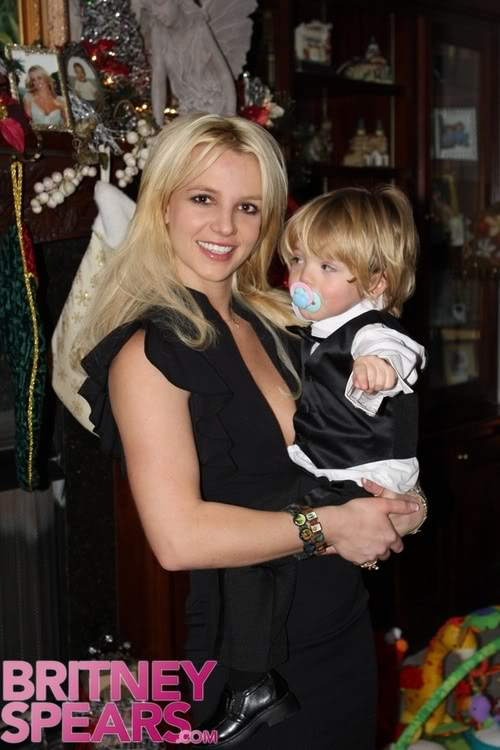 Britney Spears & Son Looking Great.  Photo: BritneySpears.com