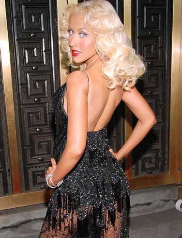 Christina Dressing Fierce.  Photo: Askmen.com