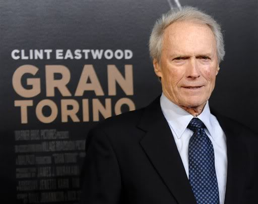 Clint Eastwood At Gran Torino Premire.  File Photo