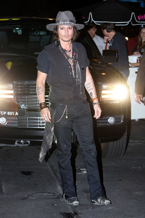 Johnny Depp. Photo: PacificCoastNewsOnline.com