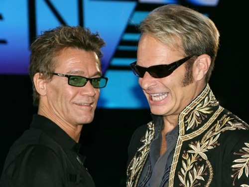 Eddie Van Halen & David Lee Roth Photo:  Celebritysmackblog.com
