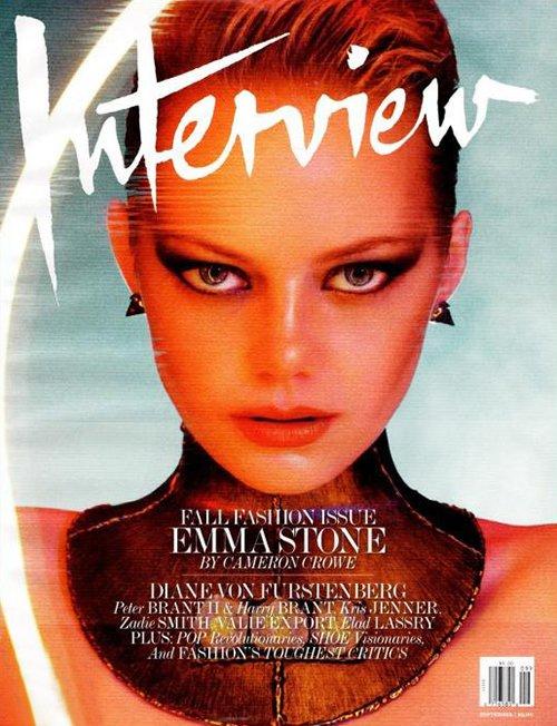 Emma Stone.  Photo:  Interview Magazine