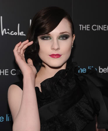 Will She Now Lose The Goth Look?  File Photo