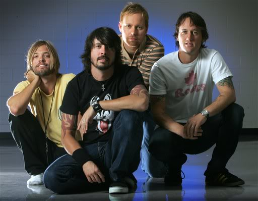 Foo Fighters Get Political.  File Photo