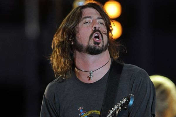 Dave Grohl  Of The Foo Fighters File Photo