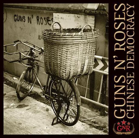Chinese Democracy By Guns N Roses.  Photo: Geffen Records