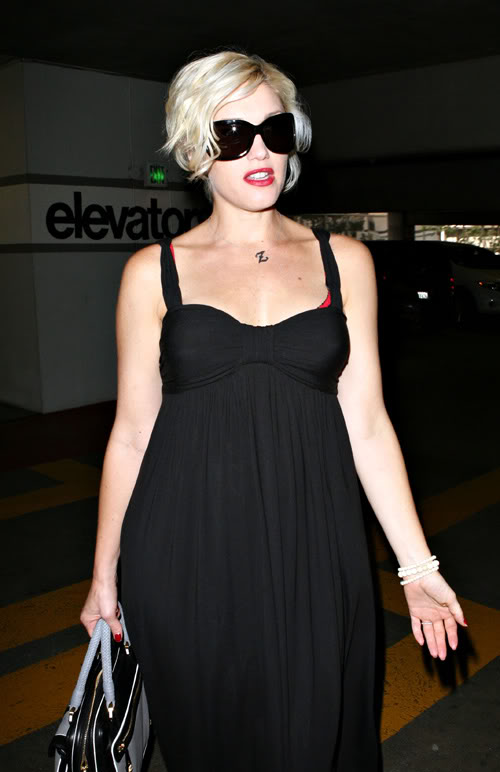 Gwen At Cedars-Sinai Hospital In L.A.-Photo: Famepictures.com
