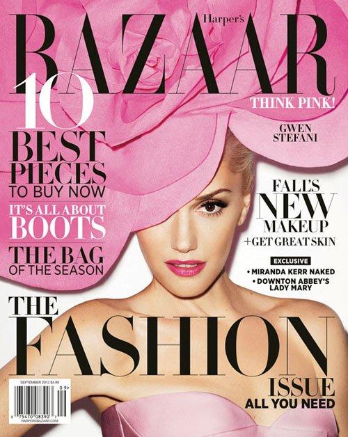Gwen Stefani Photo: Terry Richardson/Harper's Bazaar