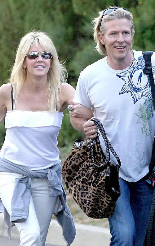 Heather Locklear & Jack Wagner Making Waves.  Photo: PacificCoastNewsOnline.com